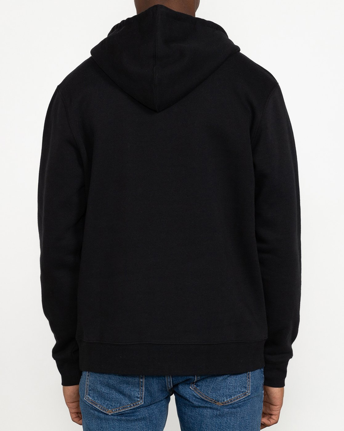 9 Big RVCA - Hoodie for Men Black U1HORFRVF0 RVCA