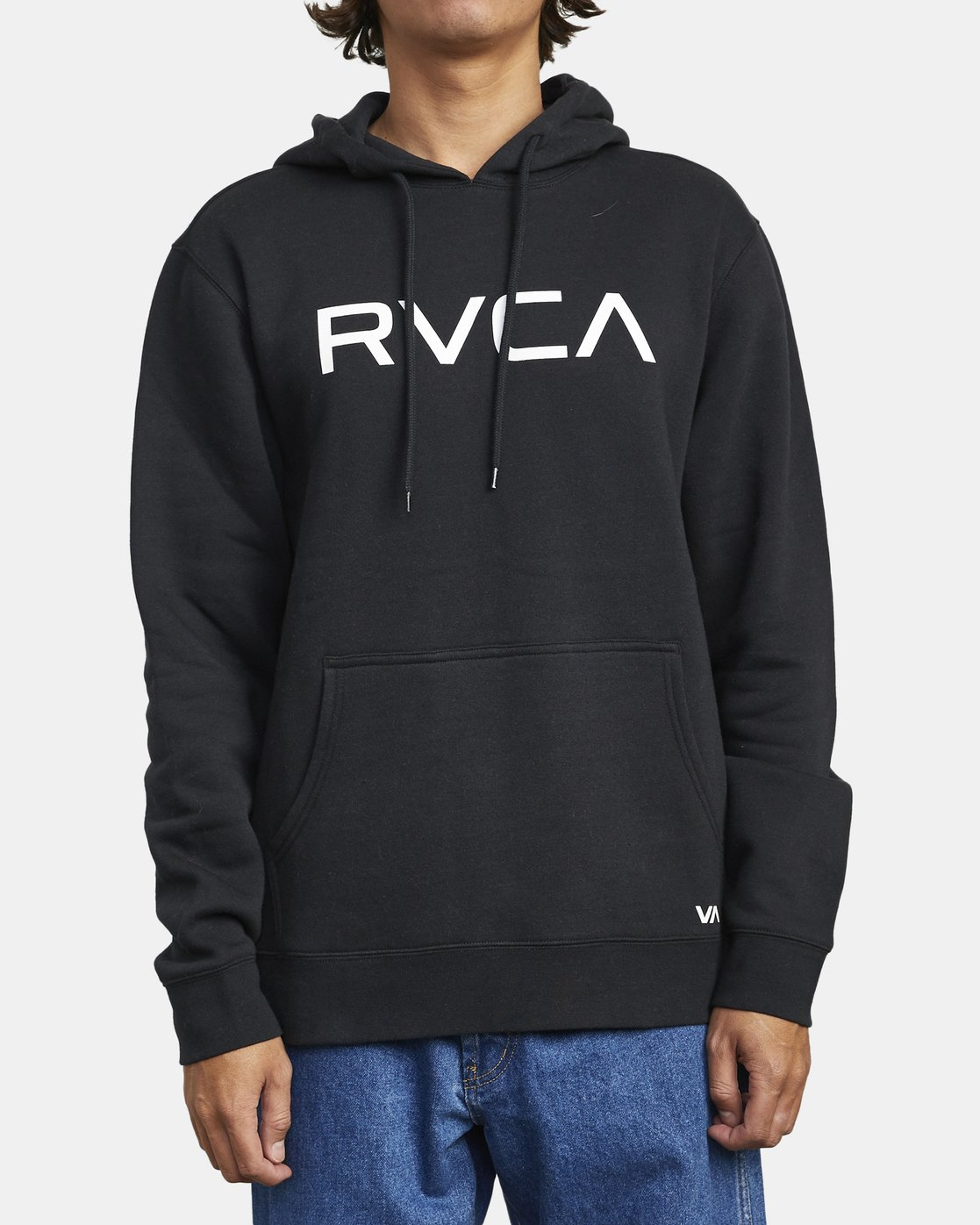 4 Big RVCA - Hoodie for Men Black U1HORFRVF0 RVCA