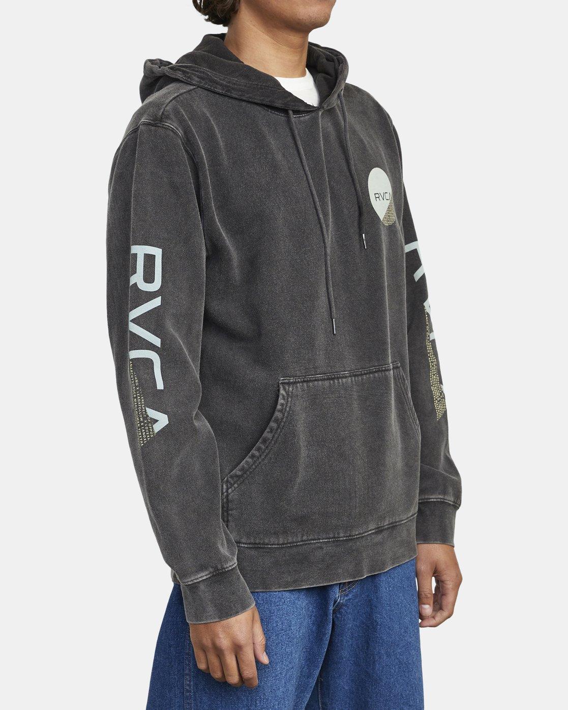 4 Fraction - Hoodie for Men Black U1HORHRVF0 RVCA