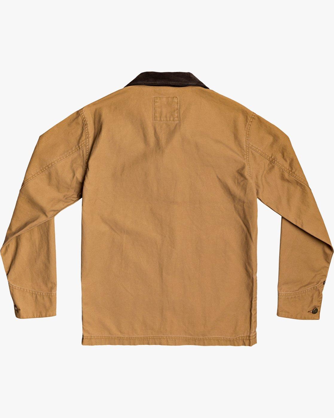 1 Chainmail - Jacke mit Knopfleiste für Männer Gelb U1JKRBRVF0 RVCA