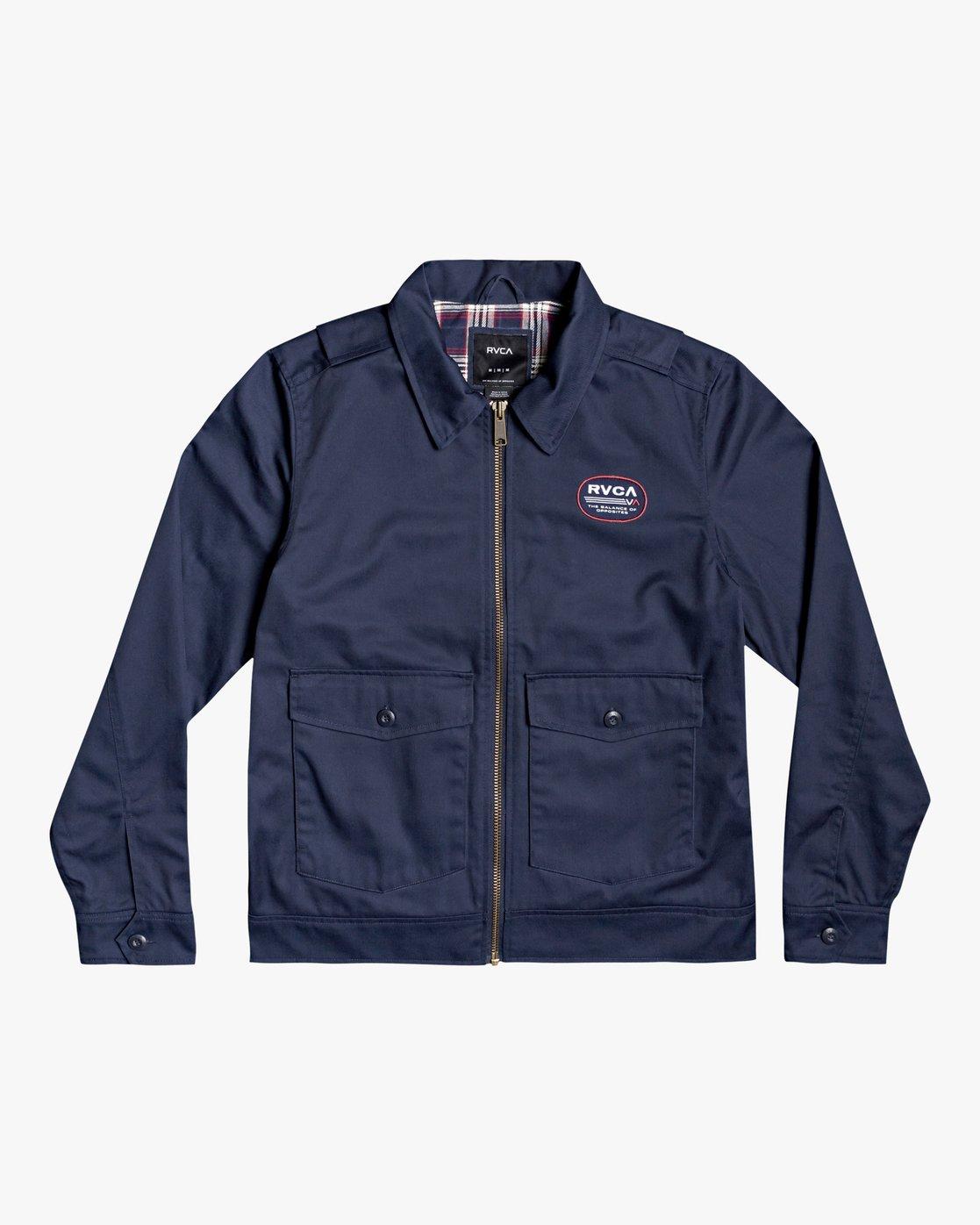 2 Service - Jacket for Men  U1JKRCRVF0 RVCA