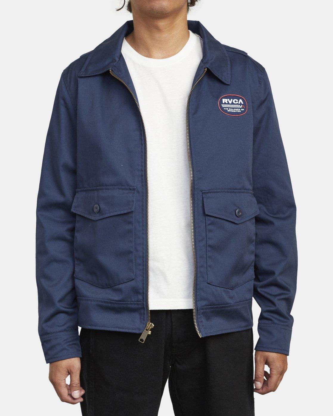 3 Service - Jacket for Men  U1JKRCRVF0 RVCA