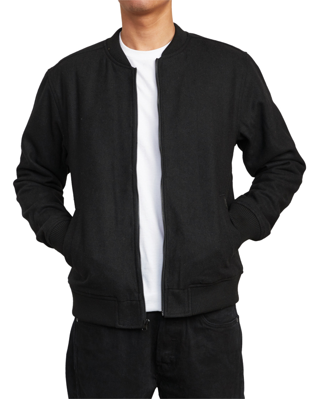 9 Troy - Bomber Jacket for Men Black U1JKRJRVF0 RVCA