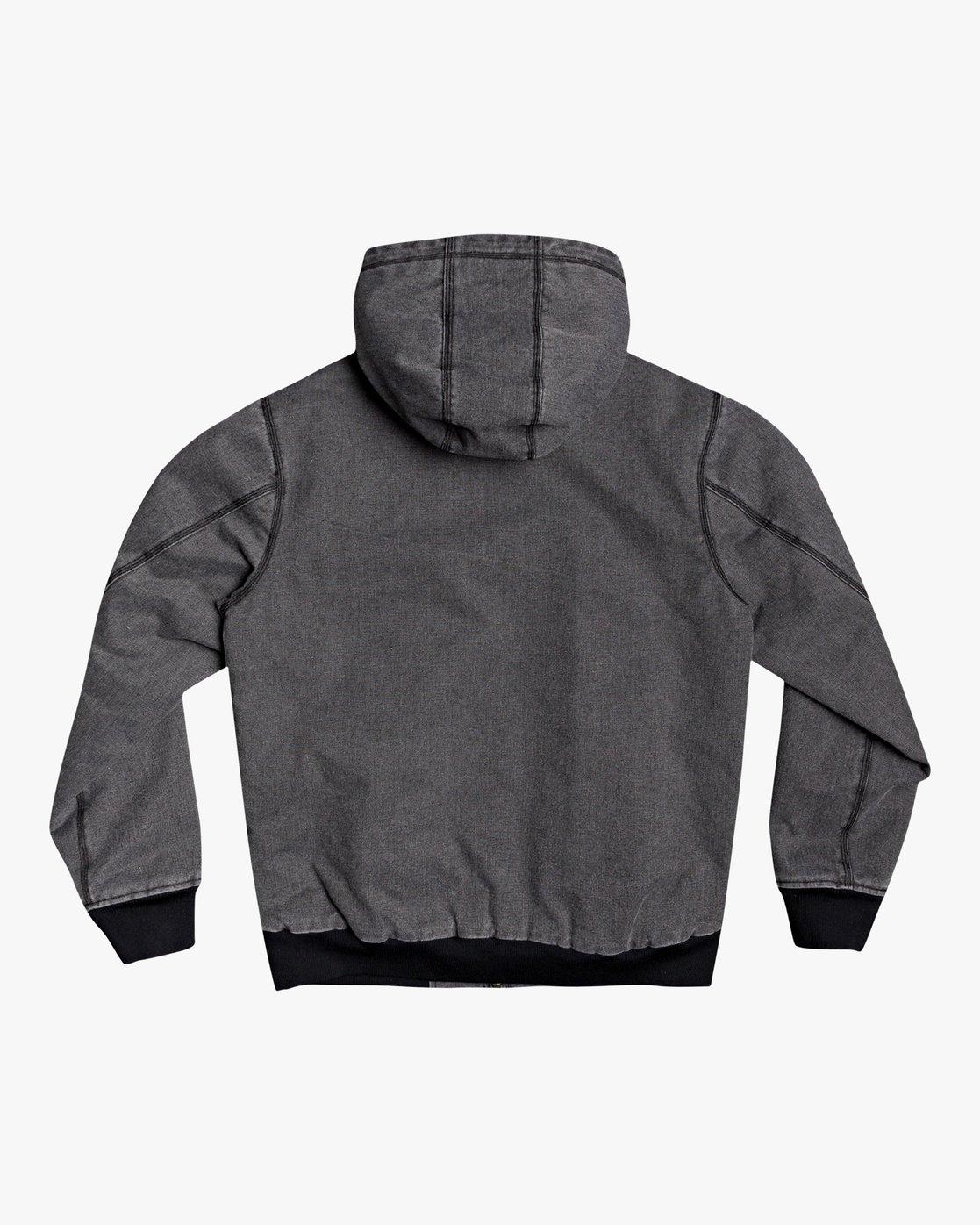 1 Hooded Canvas - Bomber Jacket for Men Black U1JKRKRVF0 RVCA