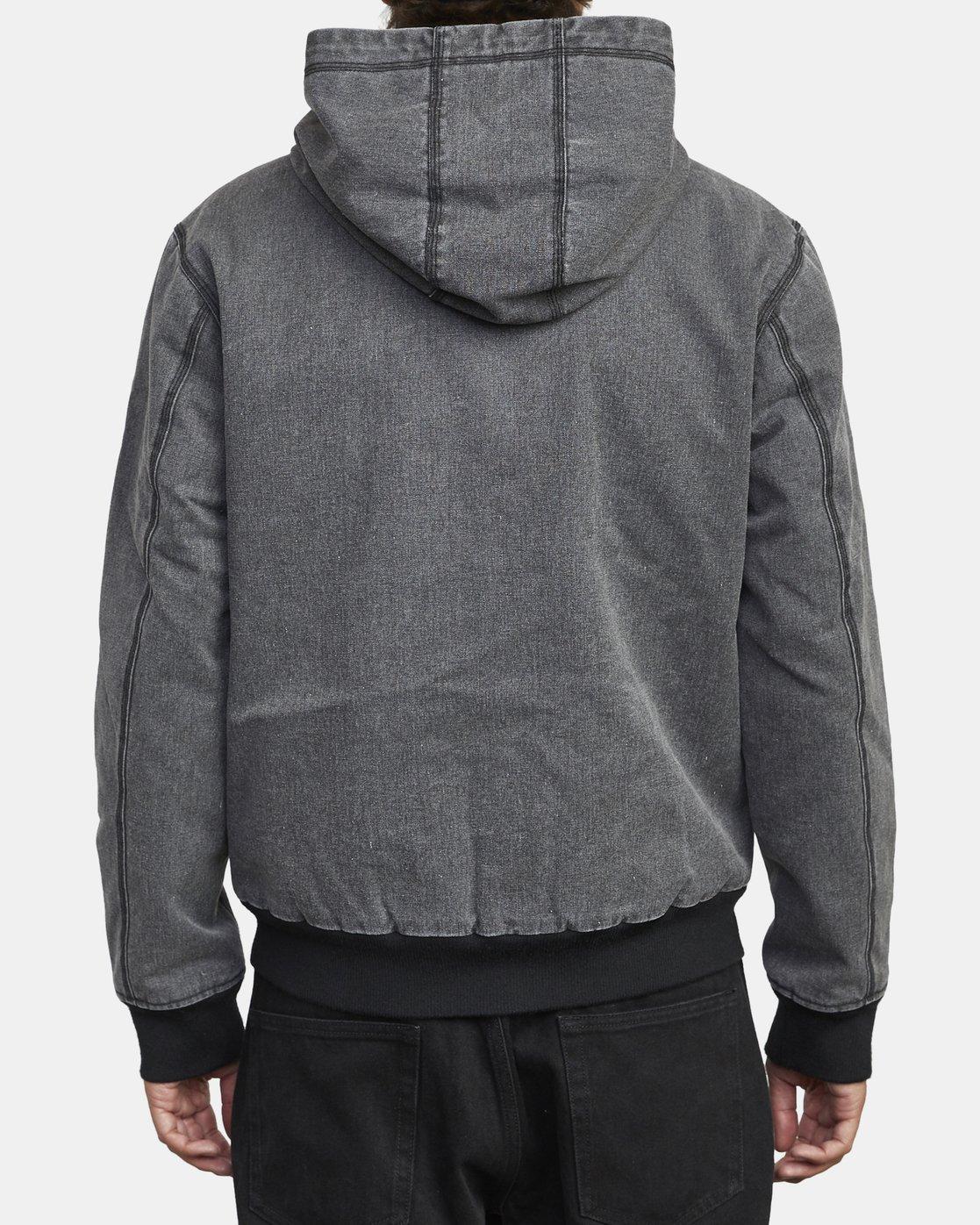 5 Hooded Canvas - Bomber Jacket for Men Black U1JKRKRVF0 RVCA