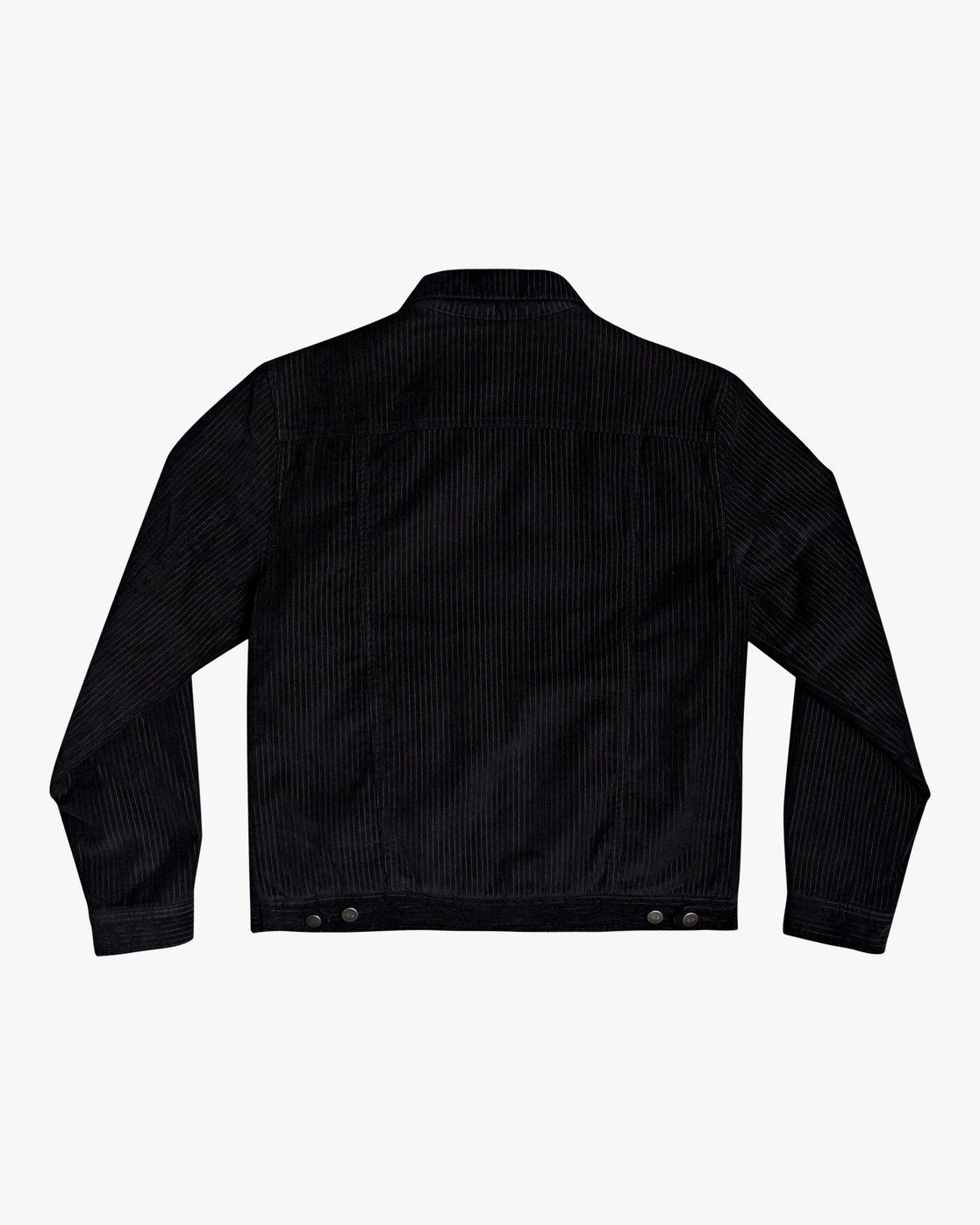 1 Easy Trucker Ii - Trucker Jacket for Men Black U1JKRPRVF0 RVCA