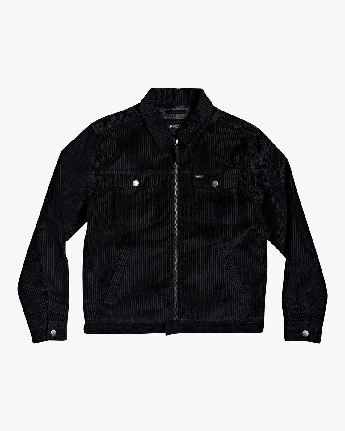 0 Easy Trucker Ii - Trucker Jacket for Men Black U1JKRPRVF0 RVCA