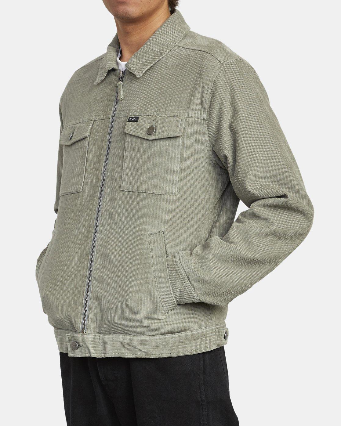 7 Easy Trucker Ii - Trucker Jacket for Men  U1JKRPRVF0 RVCA