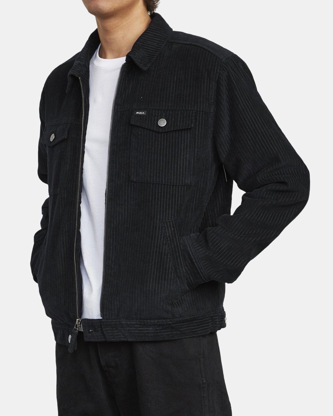 7 Easy Trucker Ii - Trucker Jacket for Men Black U1JKRPRVF0 RVCA