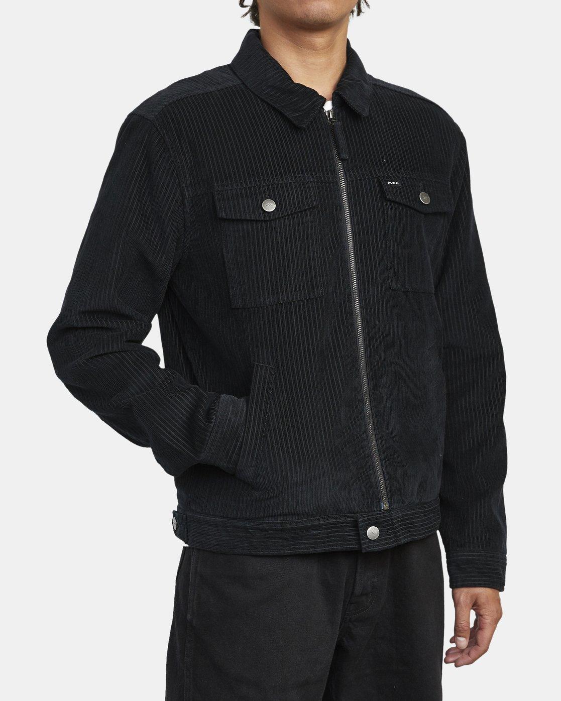 8 Easy Trucker Ii - Trucker Jacket for Men Black U1JKRPRVF0 RVCA