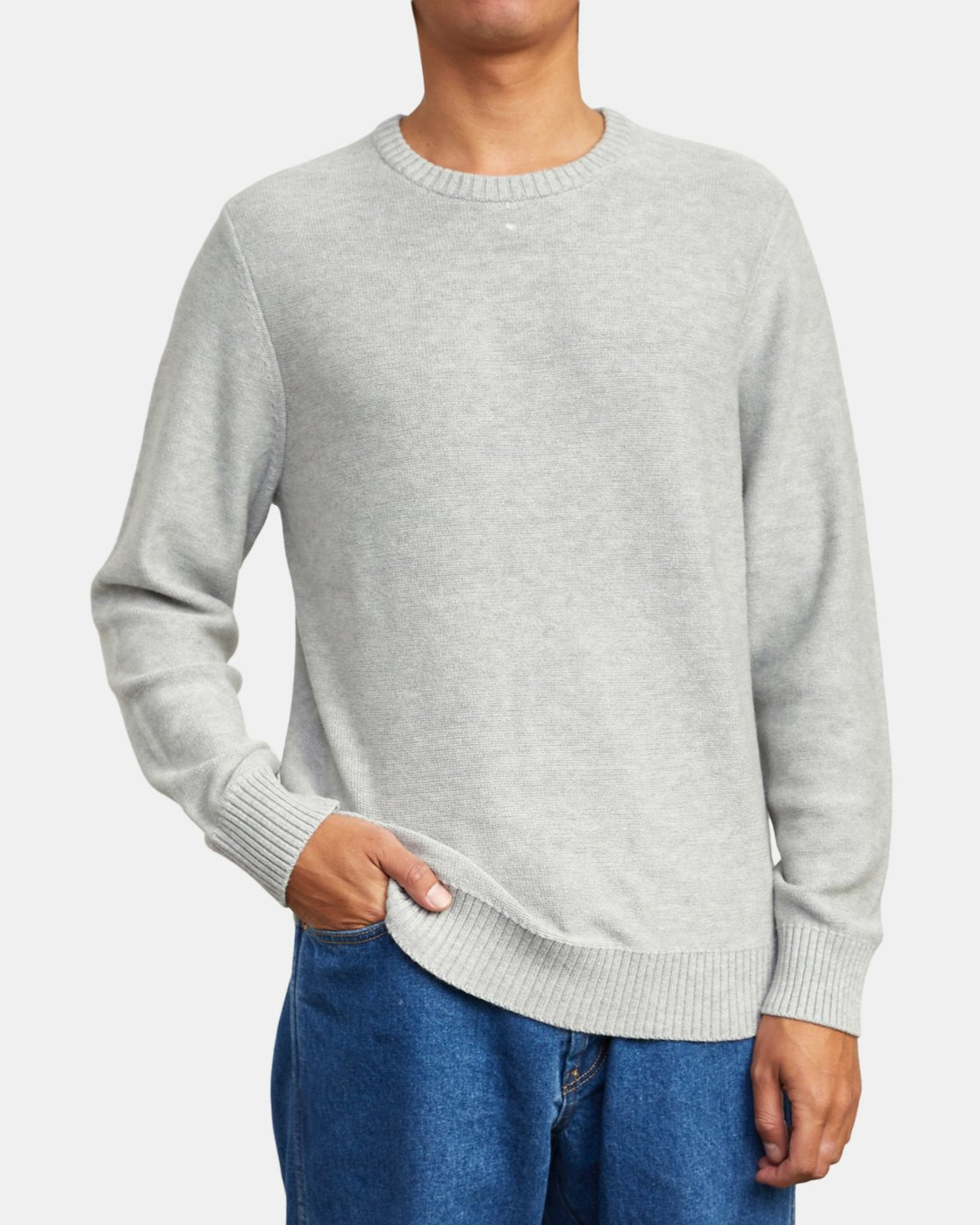 2 Witz Marl - Jumper for Men White U1JPRBRVF0 RVCA