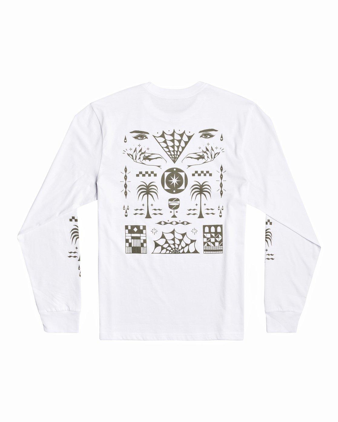 1 Jesse Brown Vision Flash - T-shirt pour Homme Blanc U1LSRERVF0 RVCA