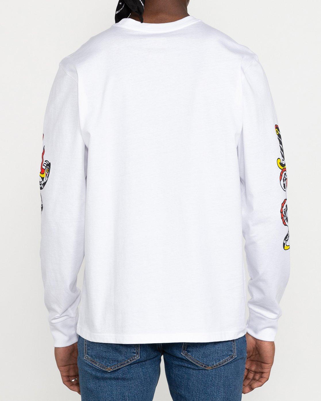 5 Bert Krak Krak Daggers - T-Shirt for Men White U1LSRFRVF0 RVCA