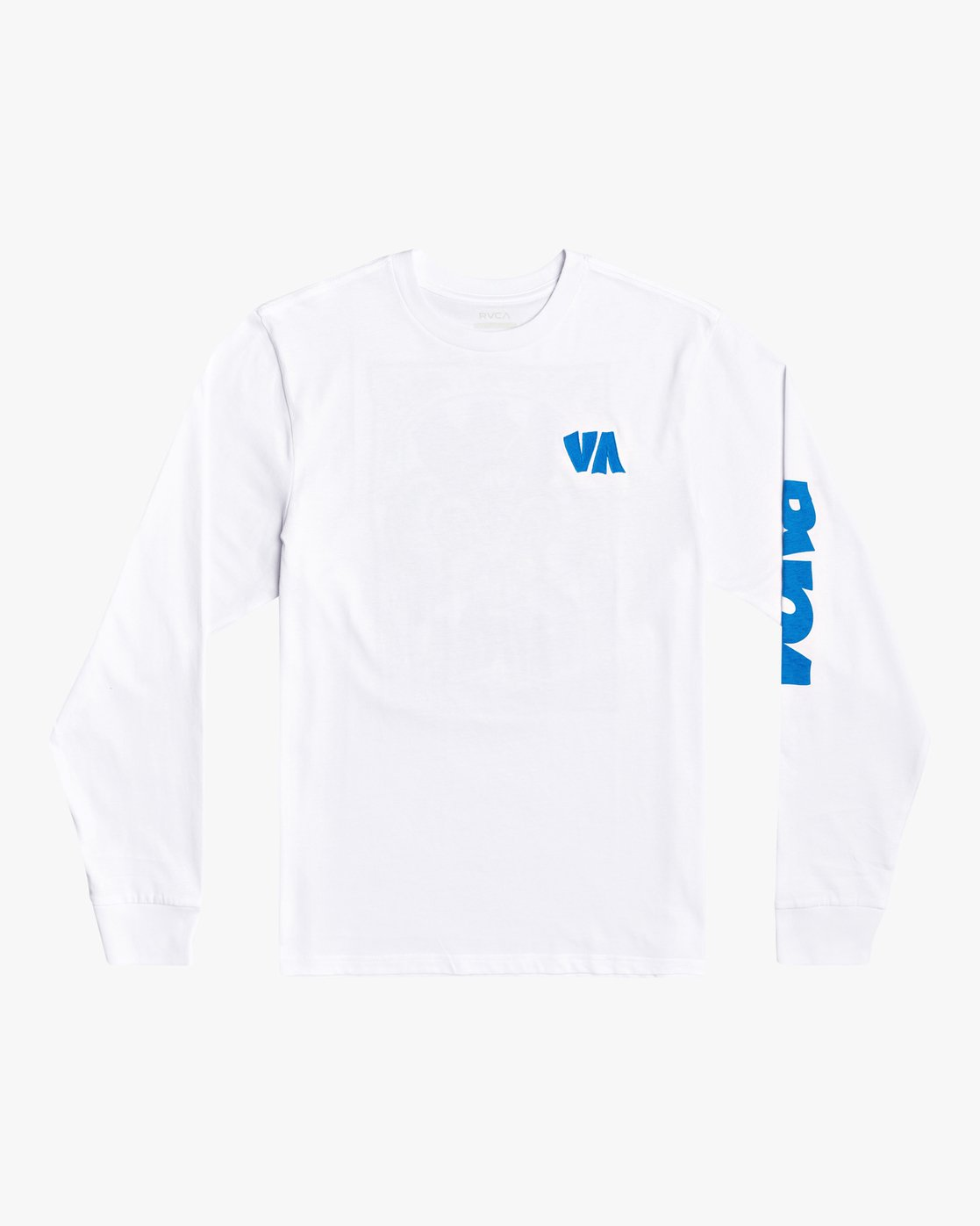 1 Roberto Rodriguez Redondo Roberto - Long Sleeve T-Shirt for Men White U1LSRKRVF0 RVCA