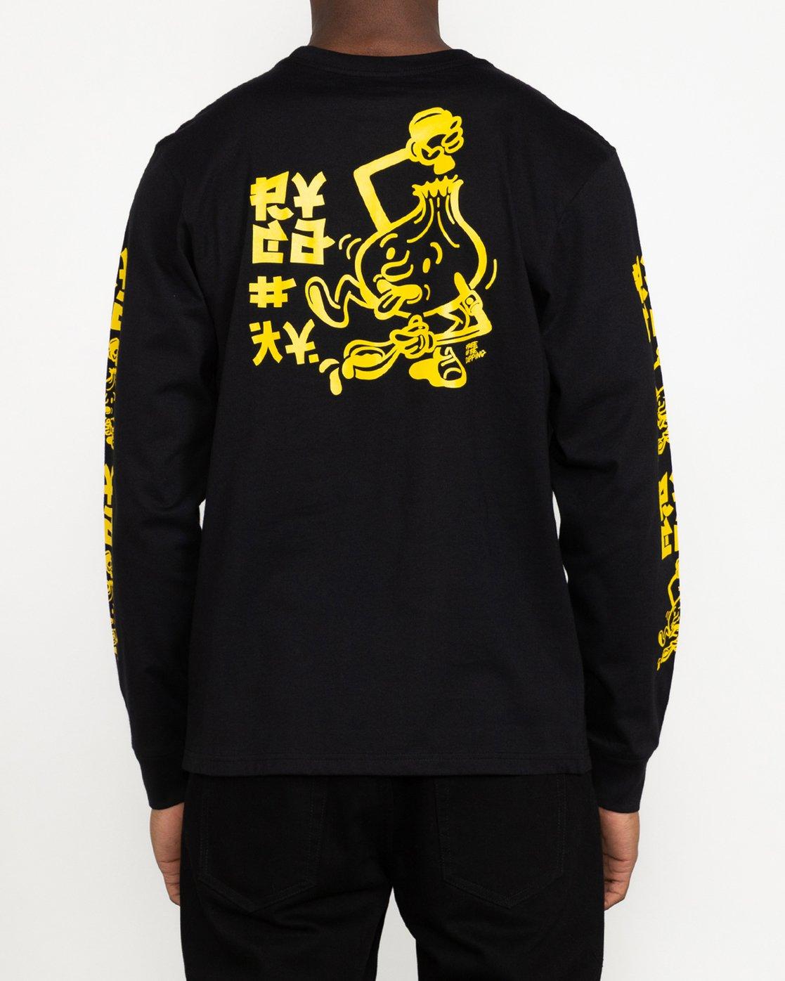 2 Roberto Rodriguez Redondo Send Noodles - T-Shirt for Men Black U1LSRLRVF0 RVCA