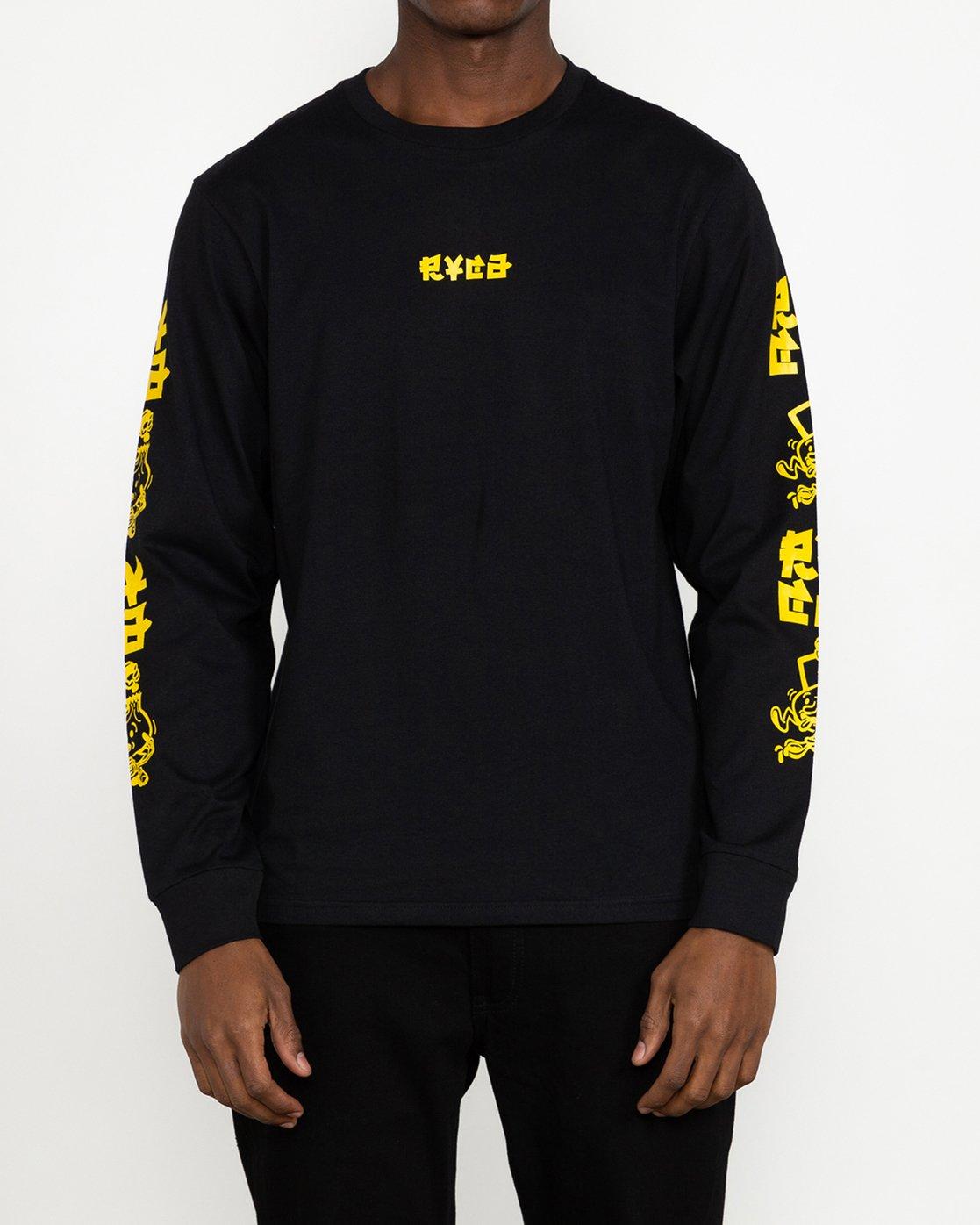 1 Roberto Rodriguez Redondo Send Noodles - T-Shirt for Men Black U1LSRLRVF0 RVCA