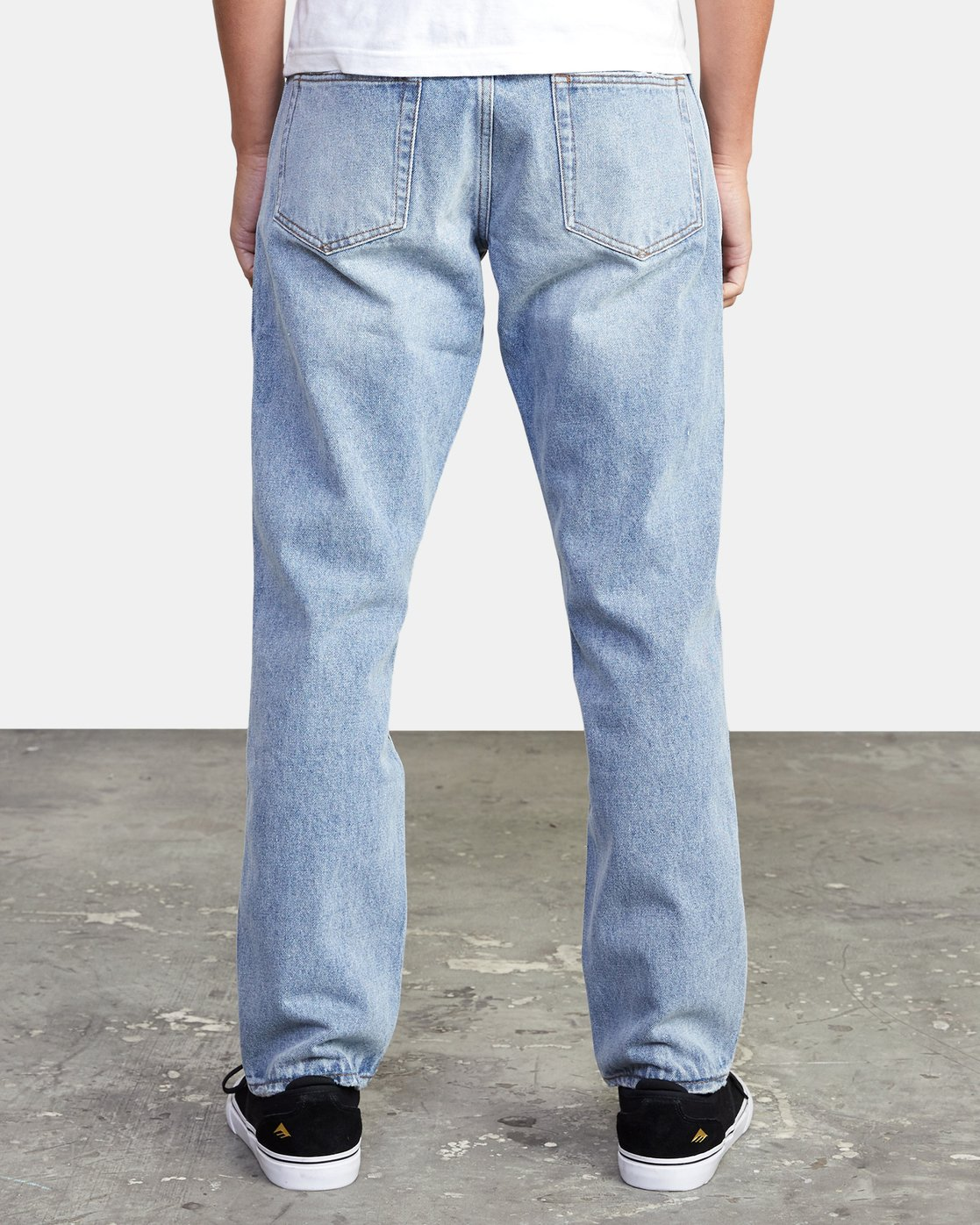 4 Weekend - Straight Fit Jeans for Men  U1PNRJRVF0 RVCA