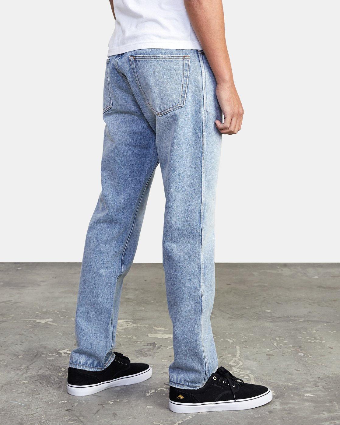 5 Weekend - Straight Fit Jeans for Men  U1PNRJRVF0 RVCA