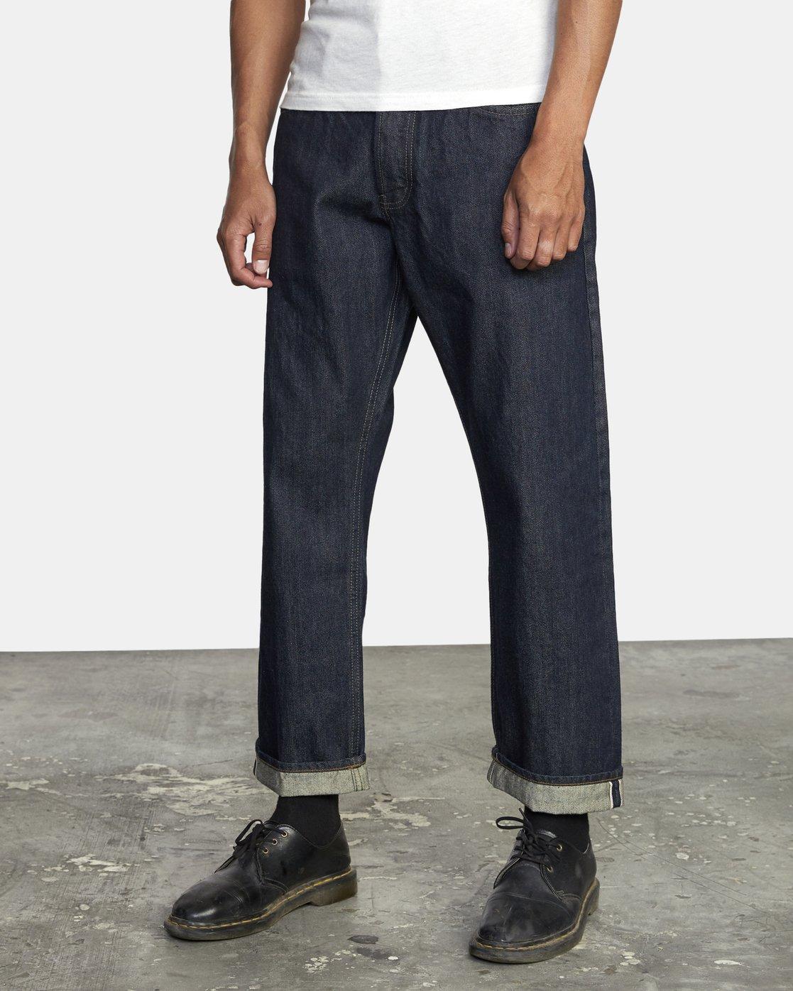 2 New Dawn - Straight Fit Jeans for Men  U1PNRNRVF0 RVCA
