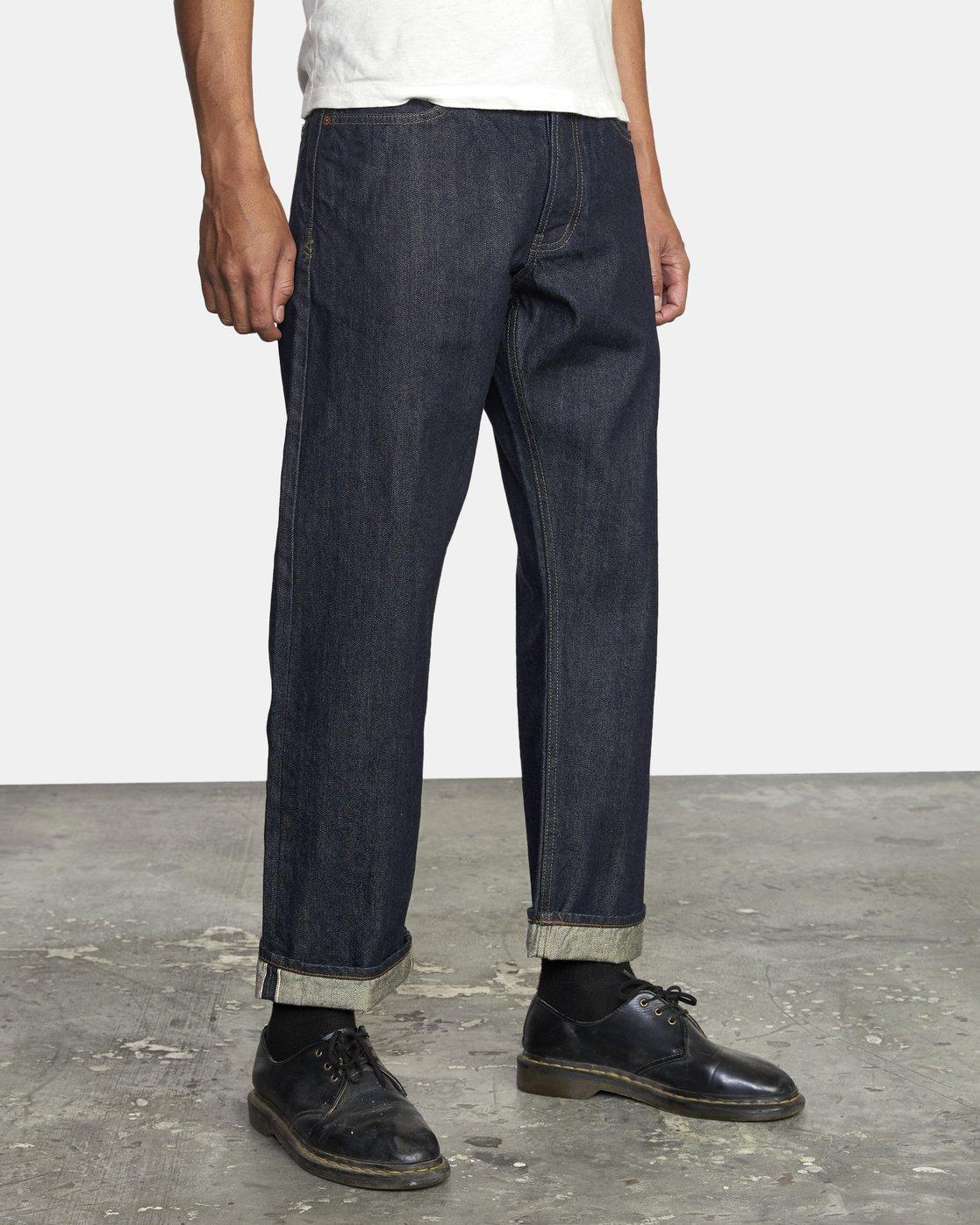 6 New Dawn - Straight Fit Jeans for Men  U1PNRNRVF0 RVCA