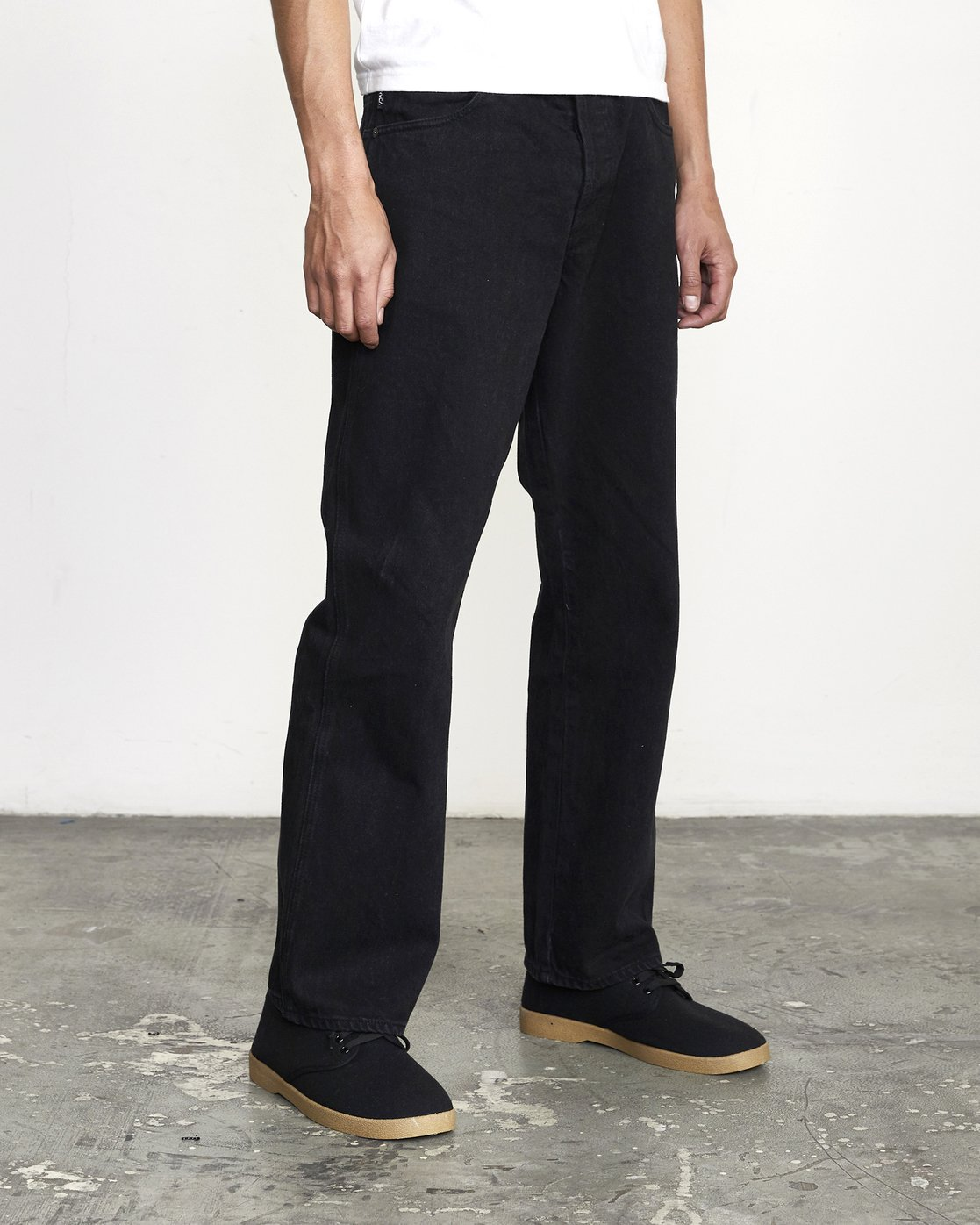 2 Baker RVCA - Relaxed Fit Jeans for Men Black U1PNVARVF0 RVCA