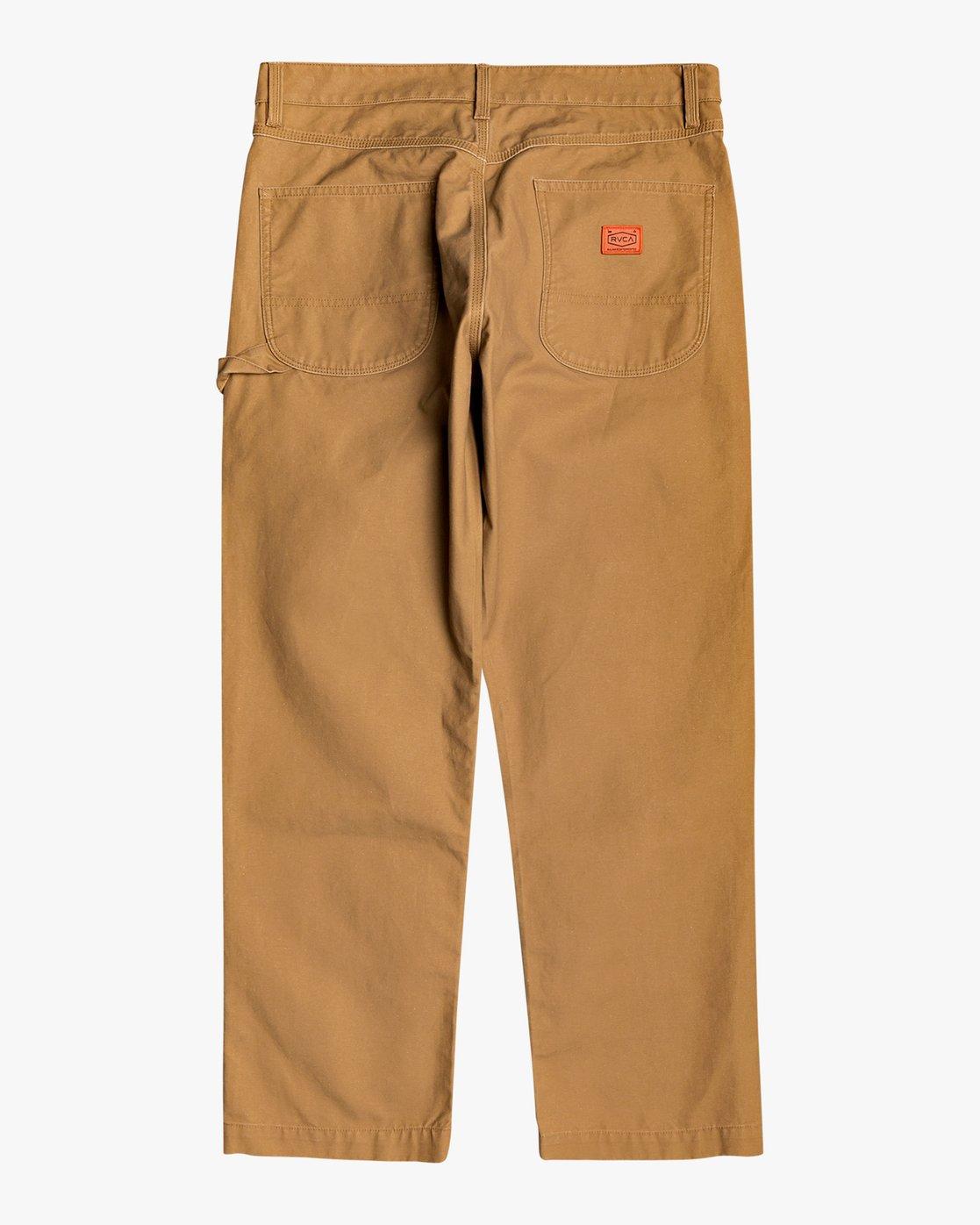 1 Chainmail - Hose mit Relaxed Fit für Männer Gelb U1PTRERVF0 RVCA