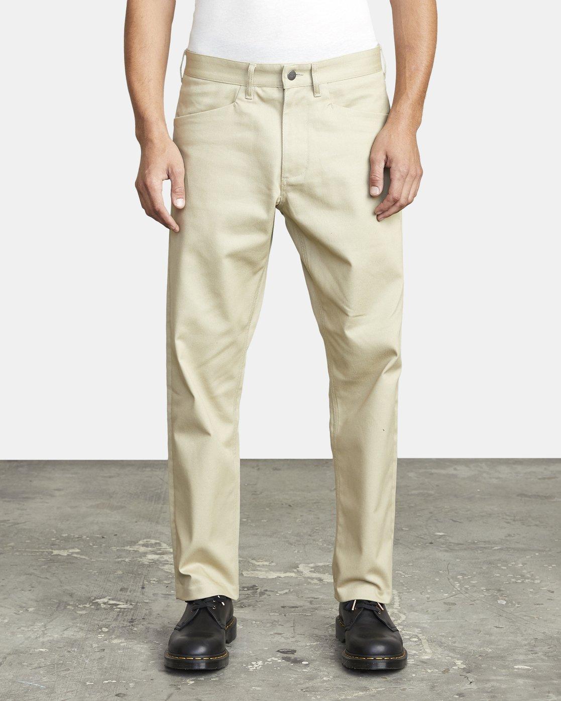 2 New Dawn Pressed - Trousers for Men Green U1PTRHRVF0 RVCA