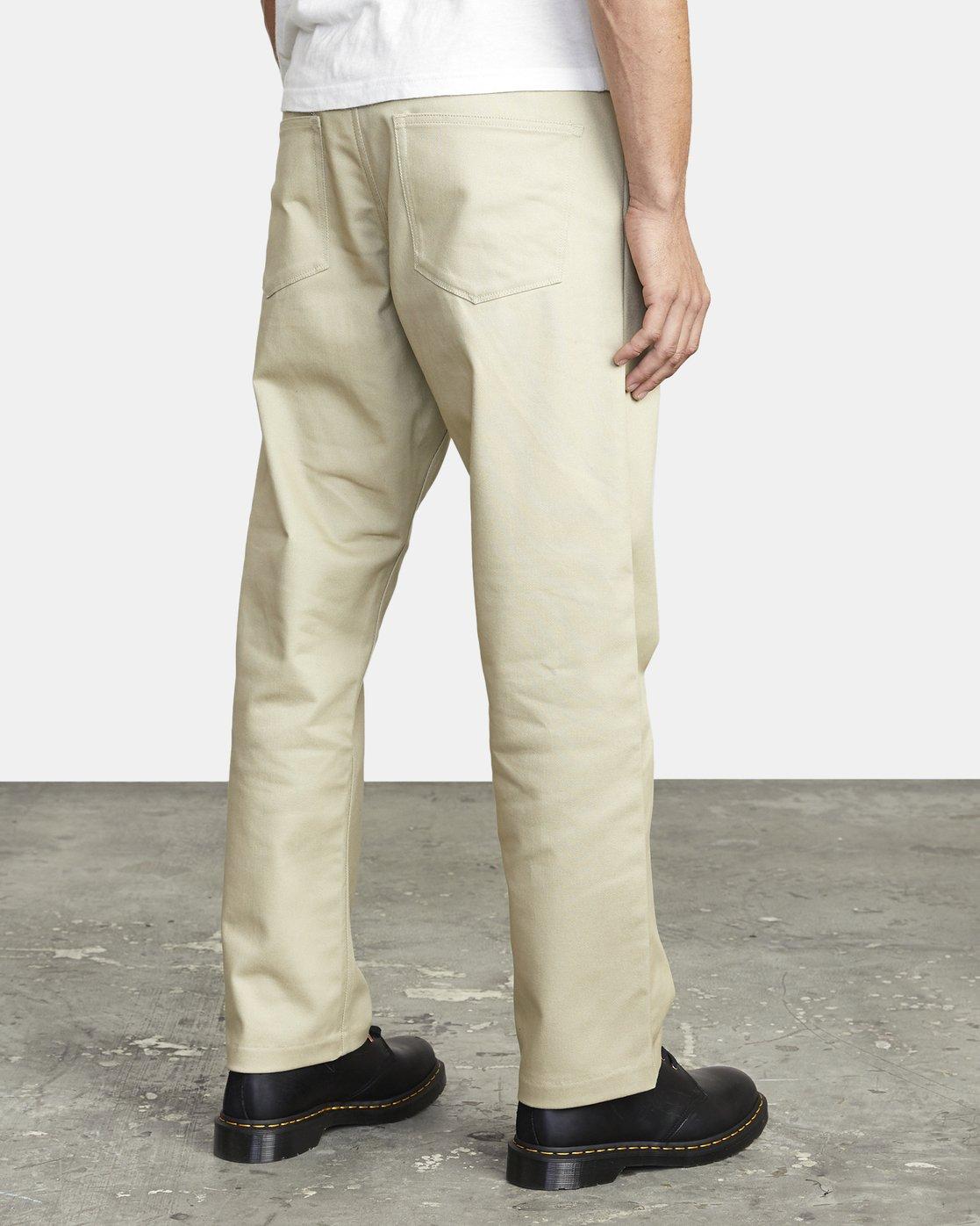6 New Dawn Pressed - Trousers for Men Green U1PTRHRVF0 RVCA