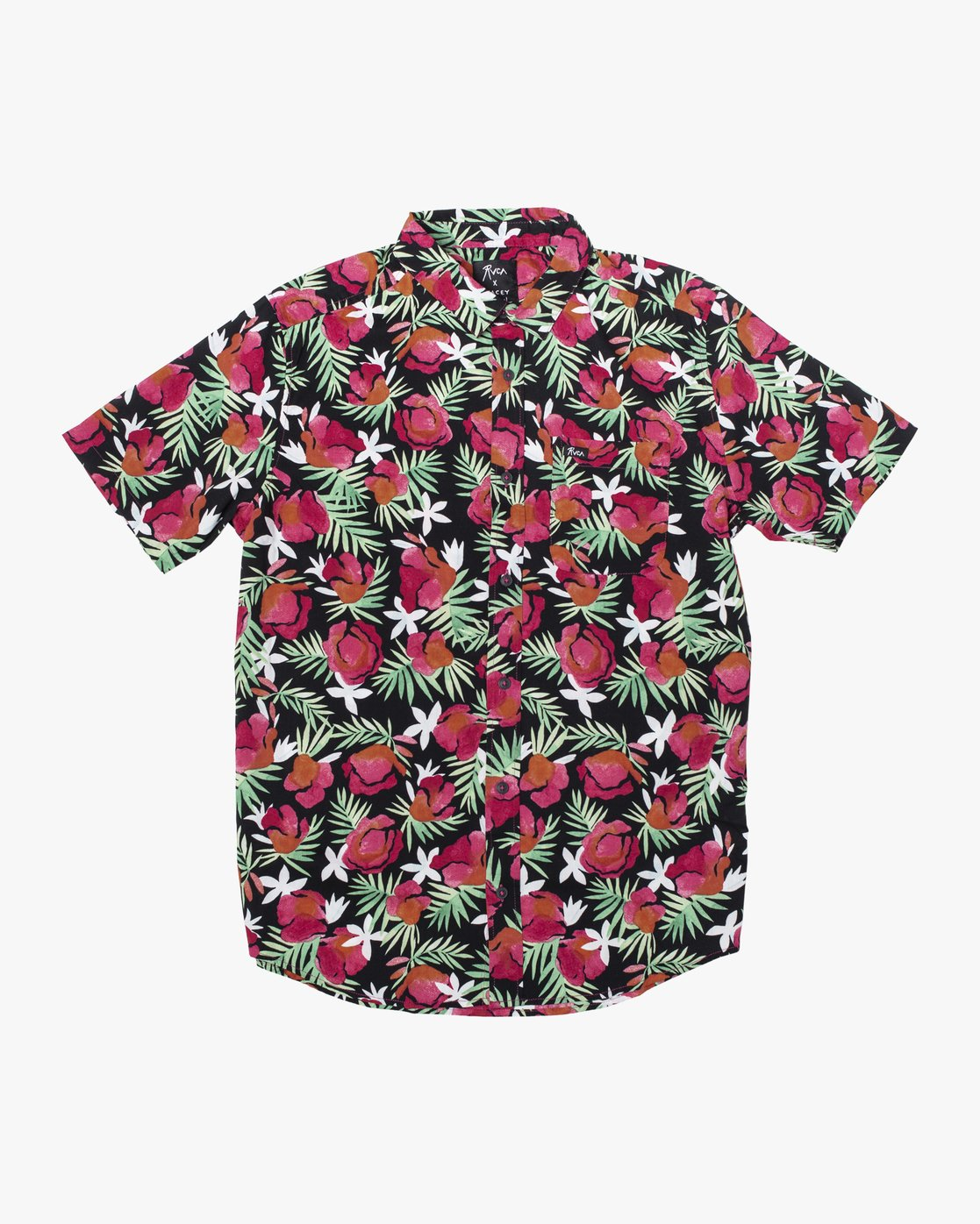 0 Stacey Rozich - Short Sleeve Shirt for Men  U1SHRARVF0 RVCA