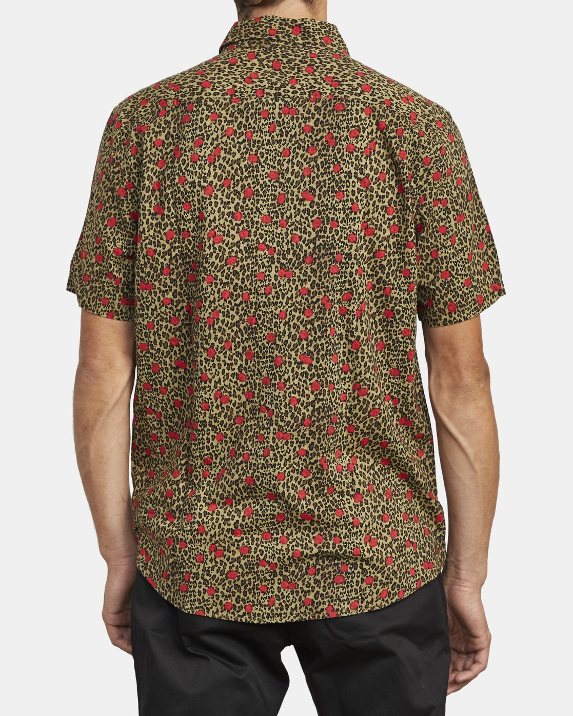 3 Jungle Fuzz - Short Sleeve Shirt for Men Green U1SHRCRVF0 RVCA