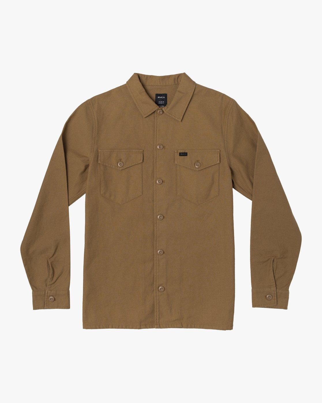 1 Fubar - Overshirt for Men Yellow U1SHRPRVF0 RVCA