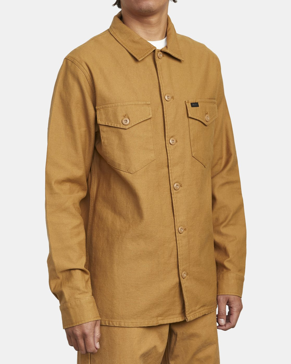 5 Fubar - Overshirt for Men Yellow U1SHRPRVF0 RVCA