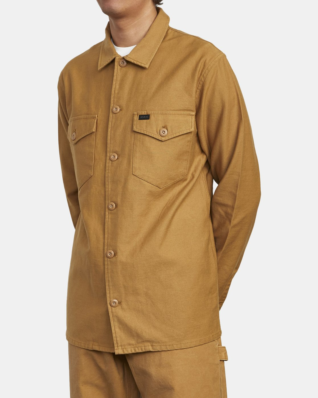 6 Fubar - Overshirt for Men Yellow U1SHRPRVF0 RVCA