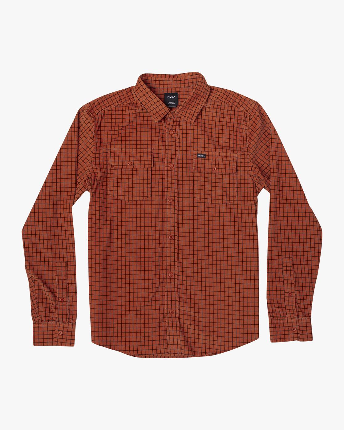 0 Freeman - Long Sleeve Shirt for Men  U1SHRQRVF0 RVCA