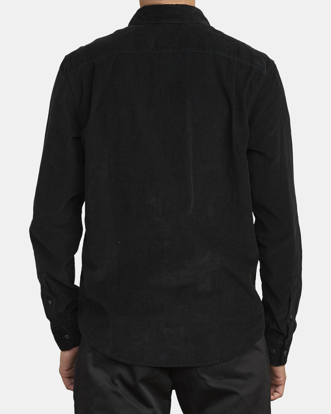 3 Freeman - Long Sleeve Shirt for Men Black U1SHRQRVF0 RVCA