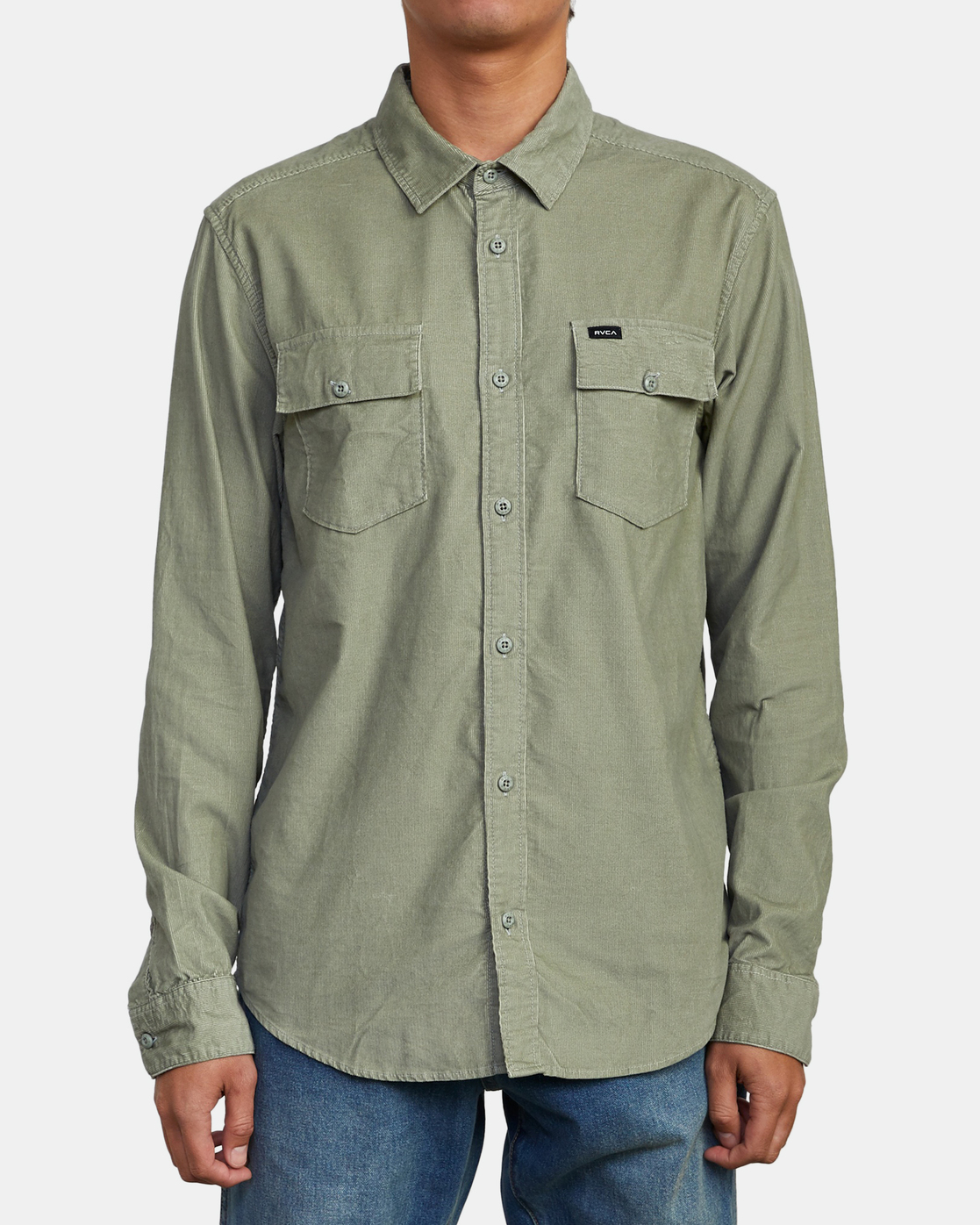 2 Freeman - Long Sleeve Shirt for Men  U1SHRQRVF0 RVCA