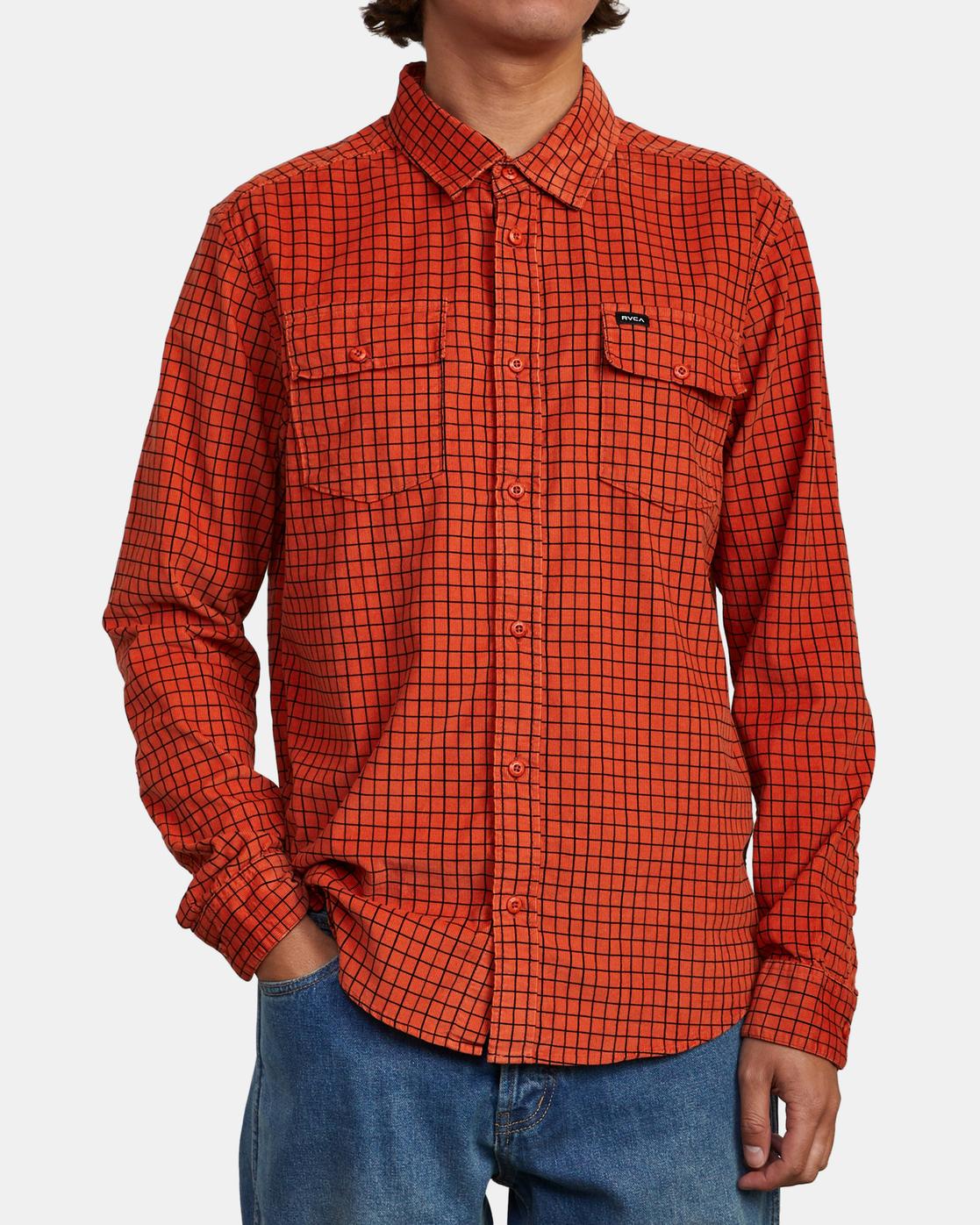 2 Freeman - Long Sleeve Shirt for Men  U1SHRQRVF0 RVCA