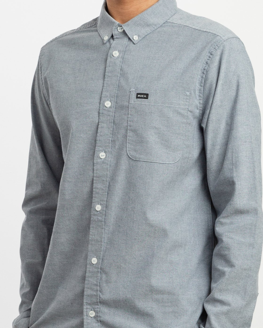 4 Thatll Do Stretch - Long Sleeve Shirt for Men Blue U1SHRTRVF0 RVCA