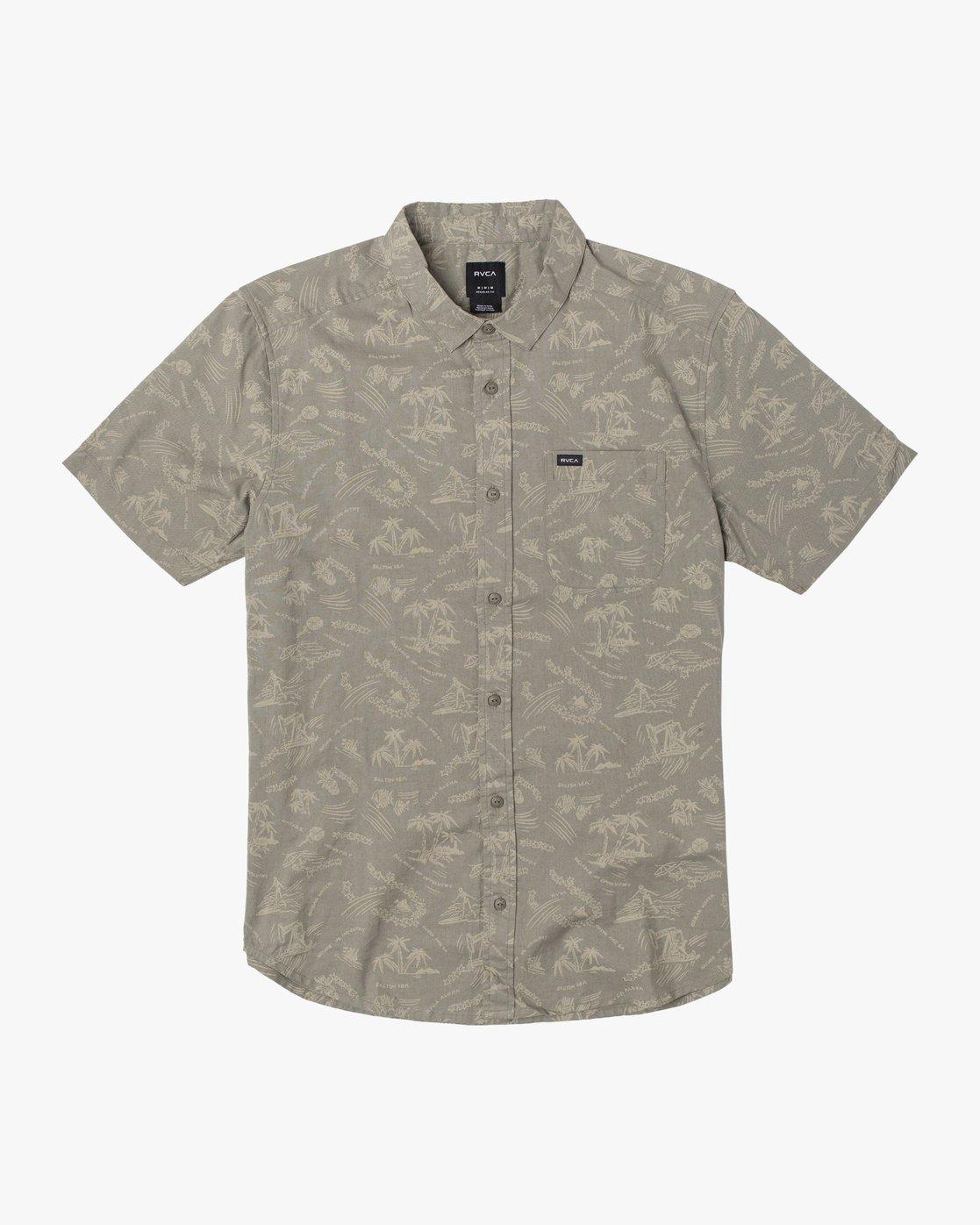 1 Tropical Disaster - Short Sleeve Shirt for Men  U1SHRVRVF0 RVCA