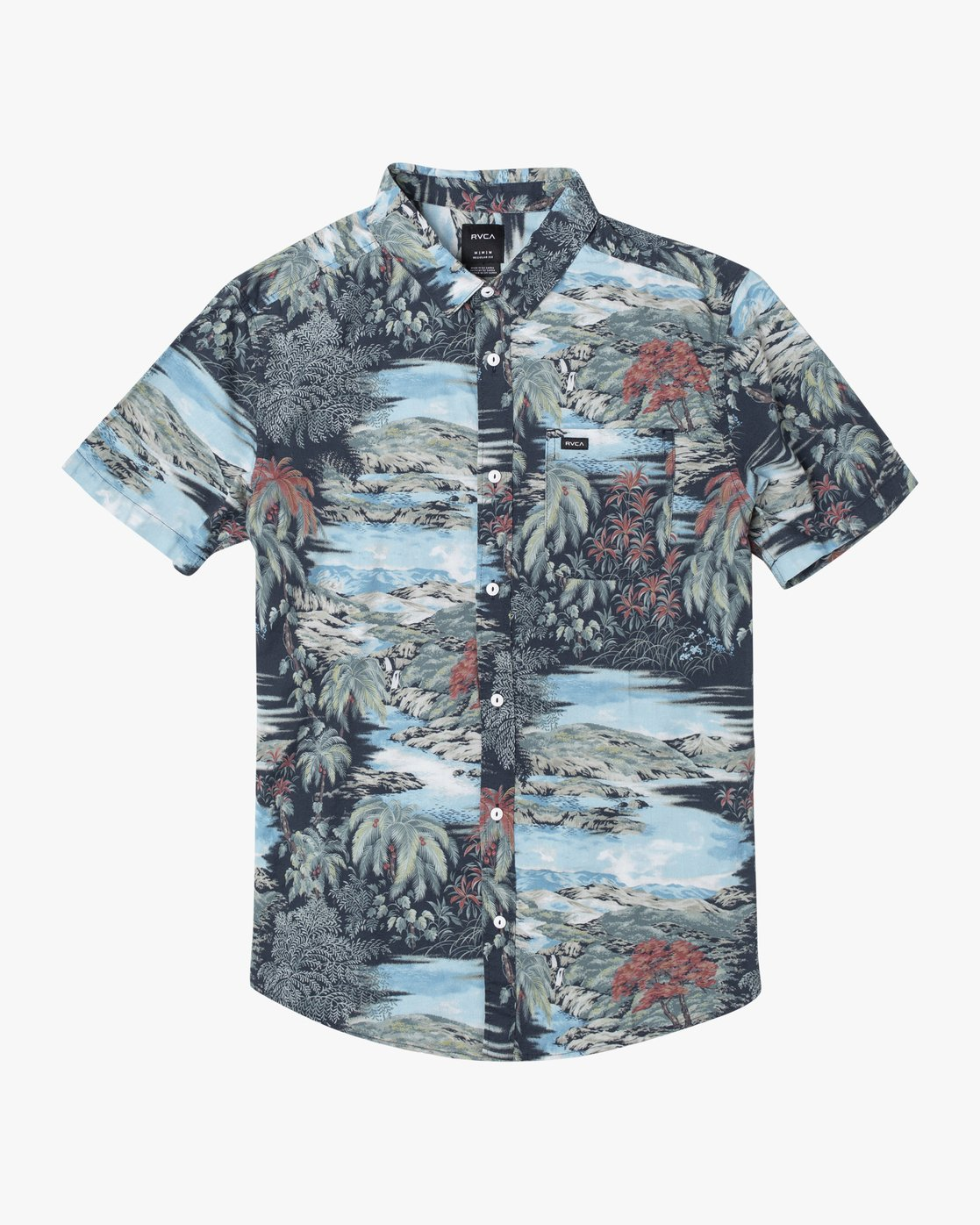 1 Paradiso Floral - Short Sleeve Shirt for Men  U1SHRXRVF0 RVCA