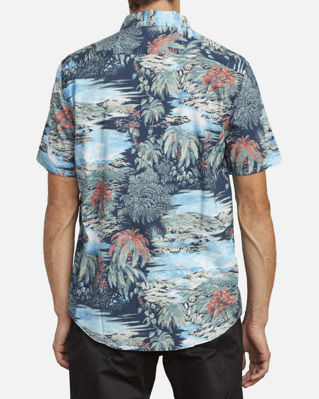 3 Paradiso Floral - Short Sleeve Shirt for Men  U1SHRXRVF0 RVCA