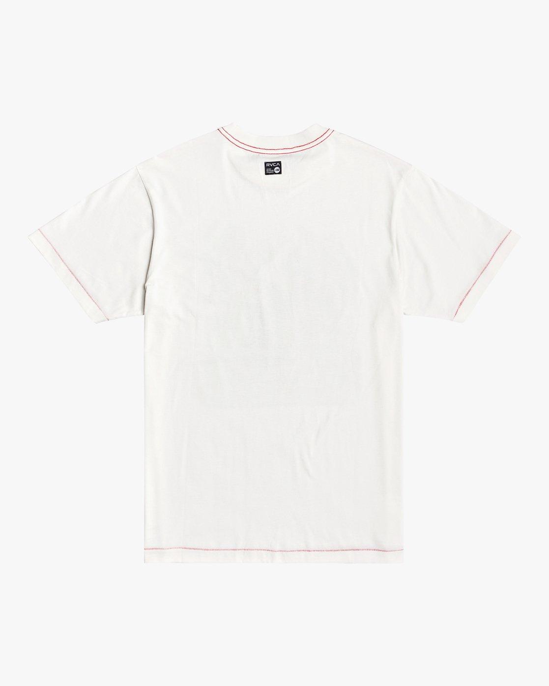 1 Stacey Rozich Bone - T-shirt pour Homme Blanc U1SSRFRVF0 RVCA
