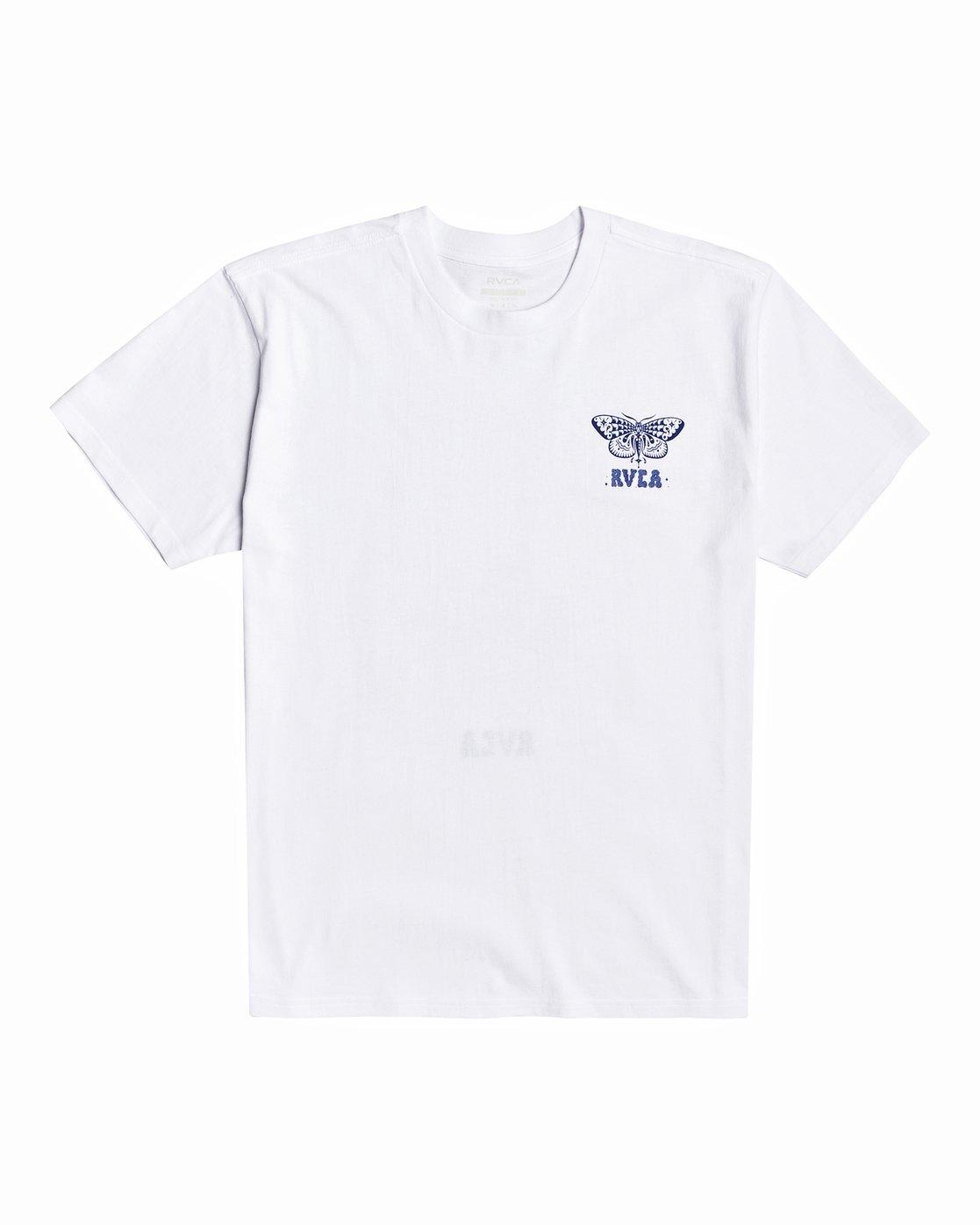 1 Jesse Brown Fauna - T-Shirt for Men White U1SSRIRVF0 RVCA