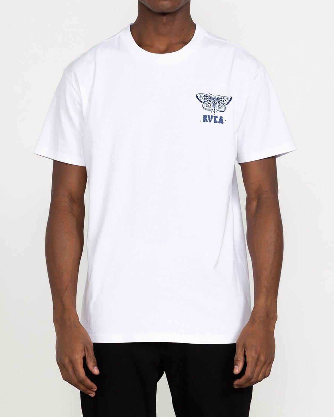 2 Jesse Brown Fauna - T-Shirt for Men White U1SSRIRVF0 RVCA