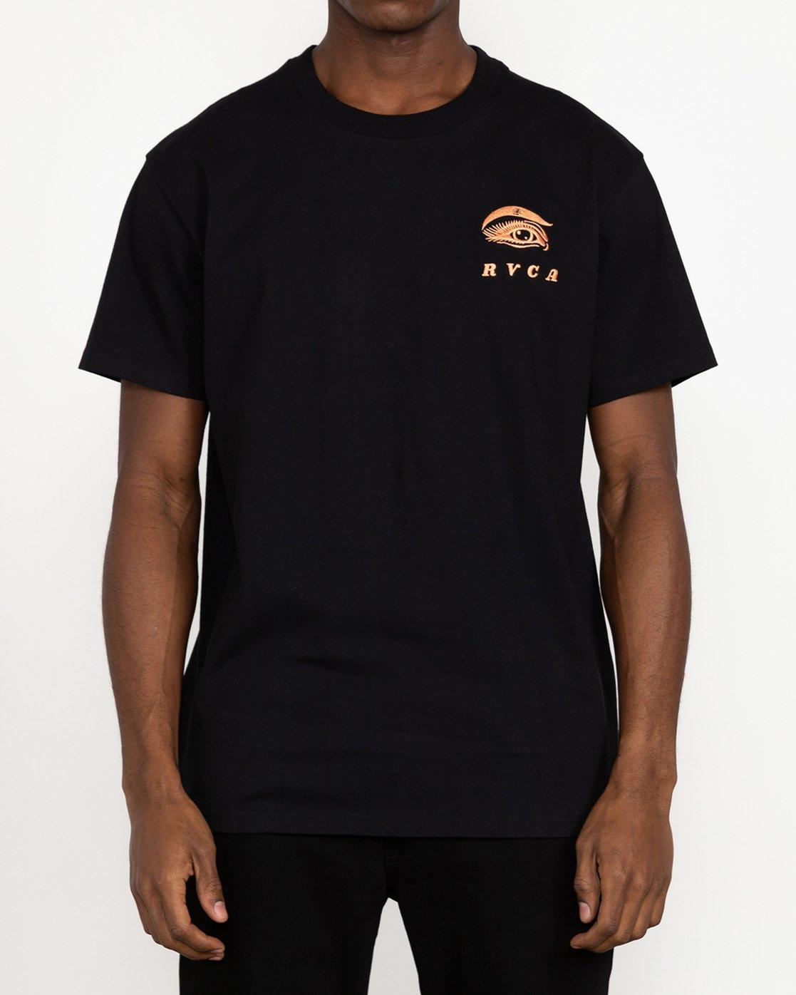 2 Jesse Brown Fauna - T-Shirt for Men Black U1SSRIRVF0 RVCA