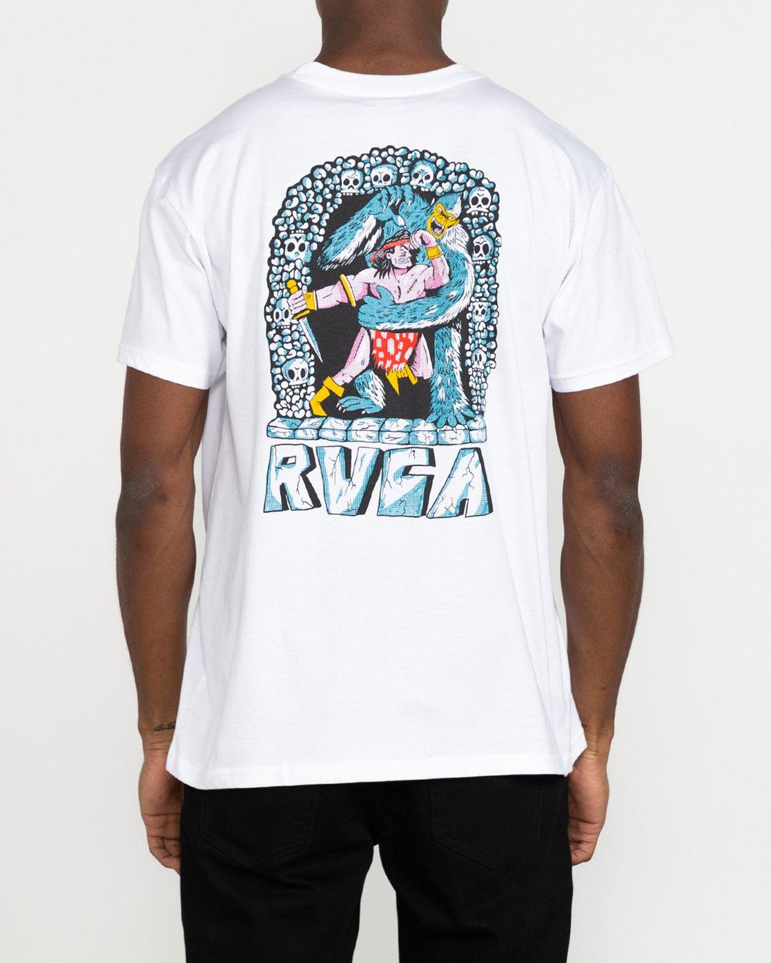 3 Grant Kratzer Barbarian - T-Shirt for Men White U1SSRLRVF0 RVCA