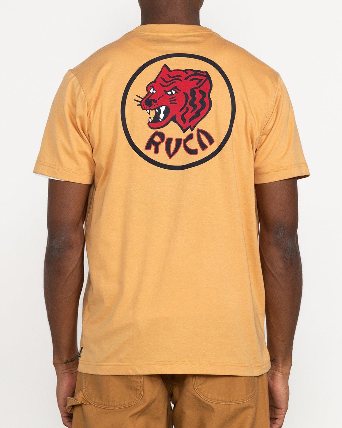 4 Dynasty - T-shirt pour Homme Bleu U1SSSCRVF0 RVCA