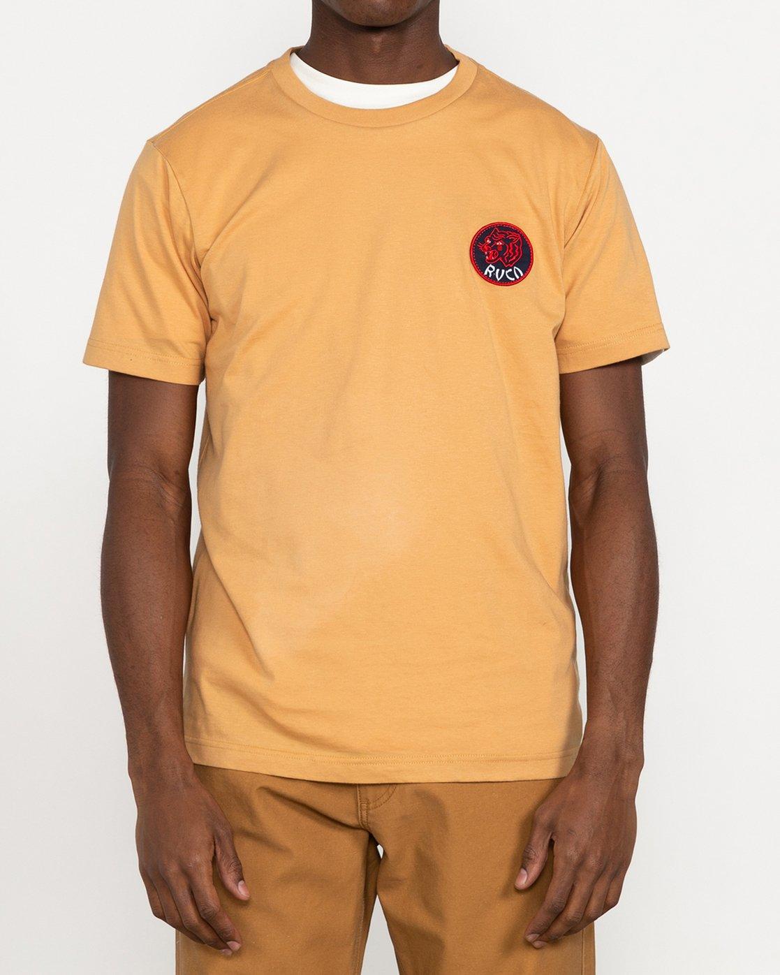 3 Dynasty - T-shirt pour Homme Bleu U1SSSCRVF0 RVCA