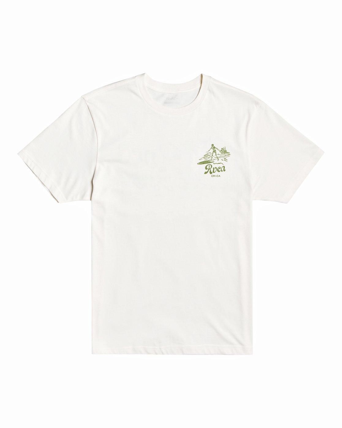 0 Tropical Disaster - T-Shirt for Men White U1SSSERVF0 RVCA