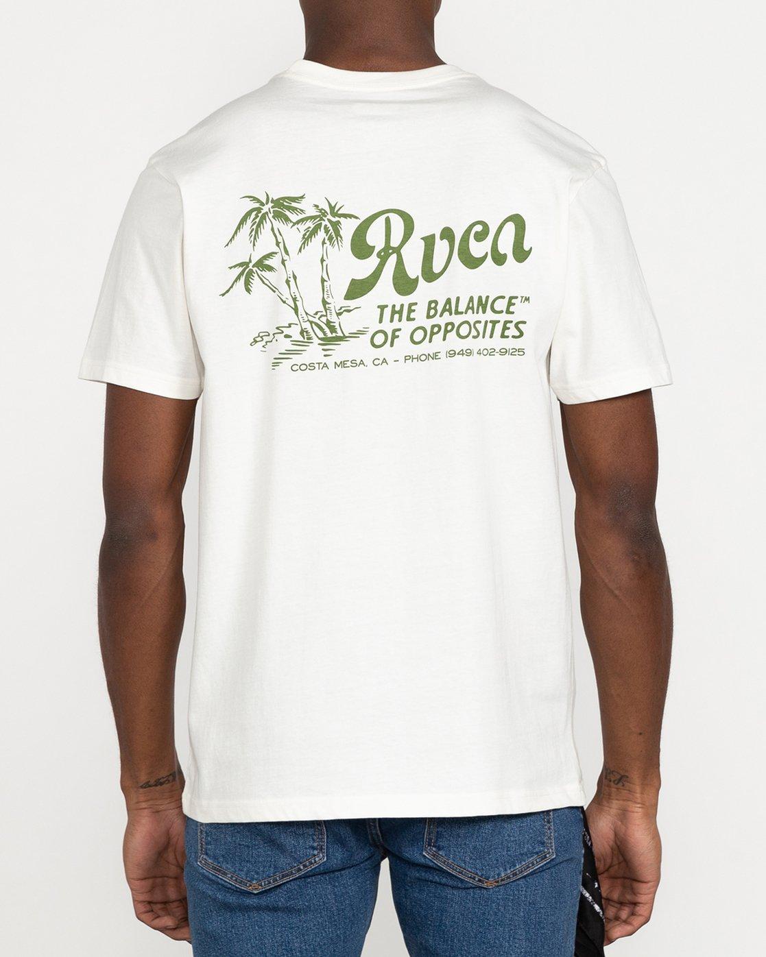 7 Tropical Disaster - T-Shirt for Men White U1SSSERVF0 RVCA